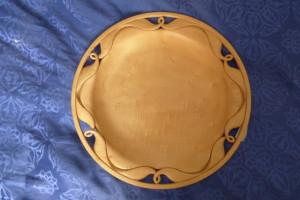 Timber carved platter